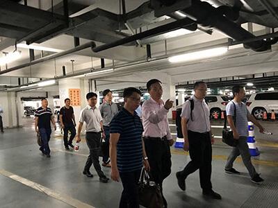 铜仁交通旅游开发投资集团来沪参观尚安标志性案场