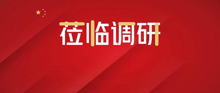 上海市交通委于福林副主任一行莅临尚安智慧停车考察调研