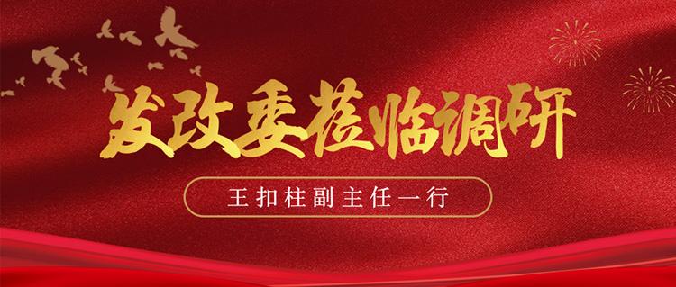 上海市发展和改革委员会王扣柱副主任一行莅临虹桥西交停车库考察调研