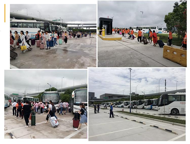集中疏散8400人次!申兰路停车场迎接大客流